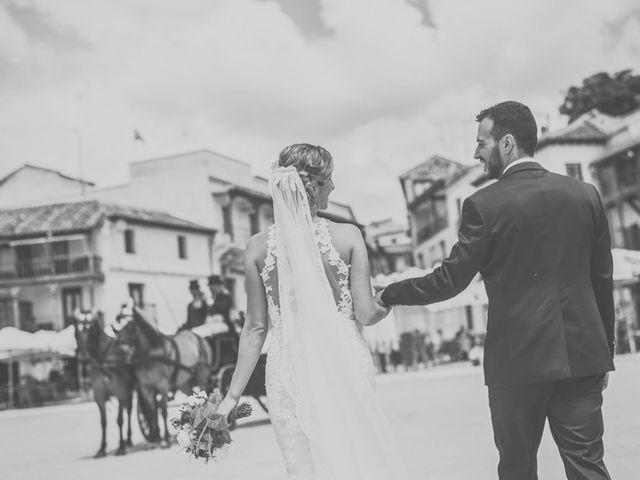 La boda de Javier y María en Chinchon, Madrid 71