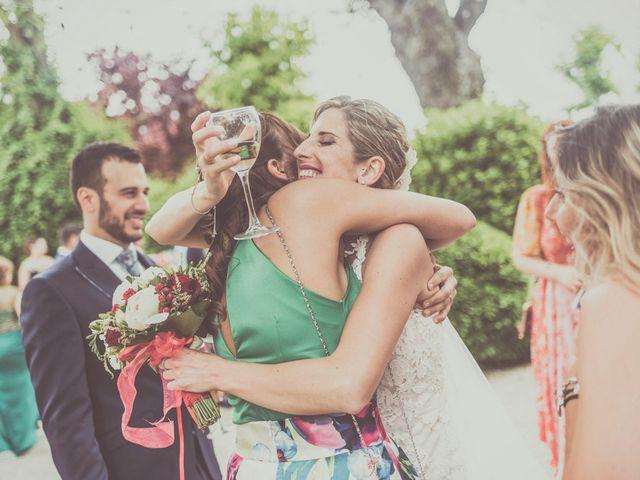 La boda de Javier y María en Chinchon, Madrid 73