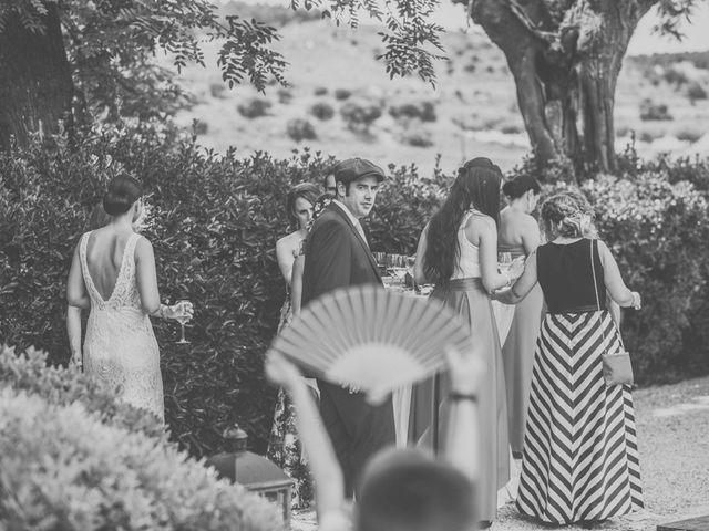 La boda de Javier y María en Chinchon, Madrid 74