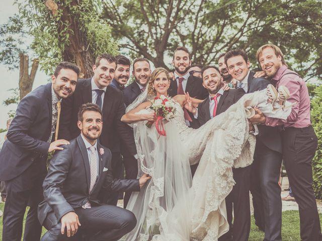 La boda de Javier y María en Chinchon, Madrid 75