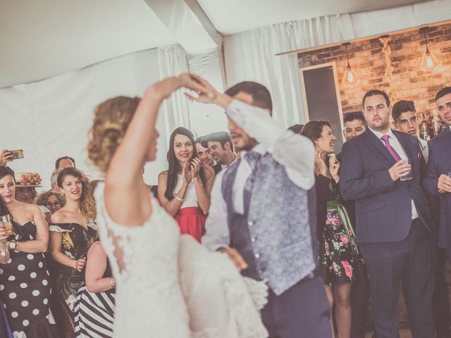 La boda de Javier y María en Chinchon, Madrid 84