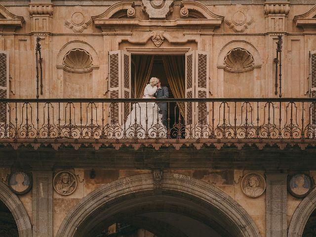La boda de Kira Makashova  y Pablo Antruejo  en Salamanca, Salamanca 1