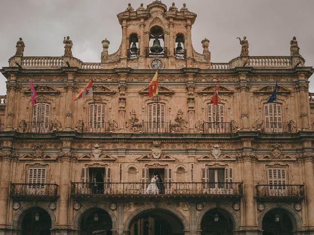 La boda de Kira Makashova  y Pablo Antruejo  en Salamanca, Salamanca 2
