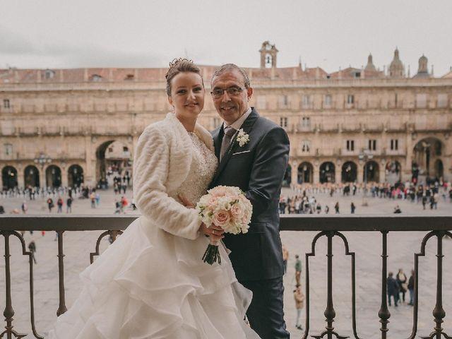 La boda de Kira Makashova  y Pablo Antruejo  en Salamanca, Salamanca 6