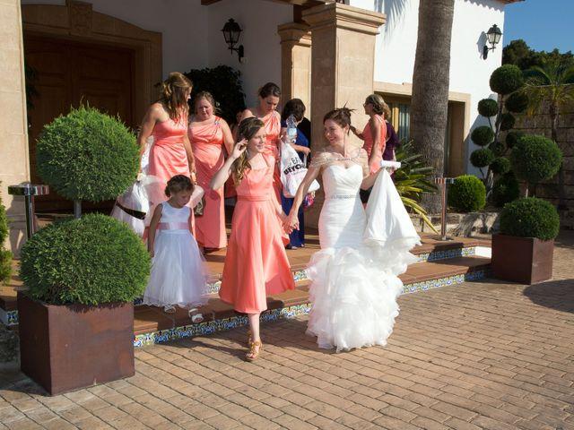 La boda de Daniel y Daniela en Xàbia/jávea, Alicante 16