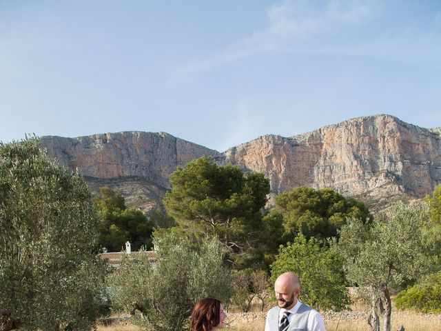 La boda de Daniel y Daniela en Xàbia/jávea, Alicante 29