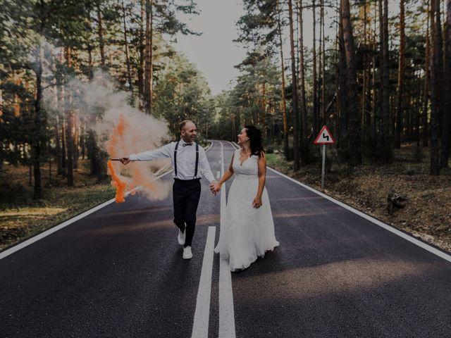 La boda de Estibaliz y Robert
