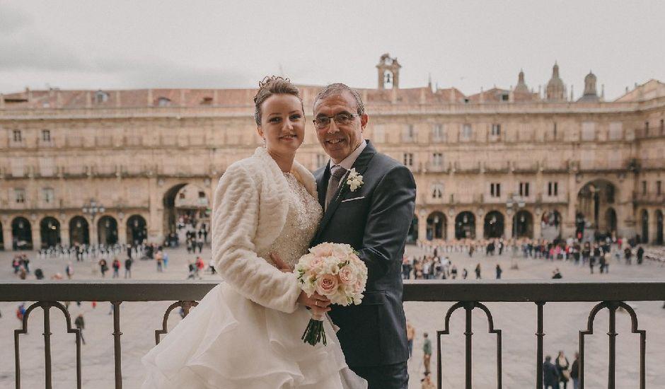 La boda de Kira Makashova  y Pablo Antruejo  en Salamanca, Salamanca