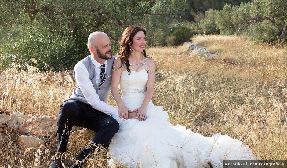 La boda de Daniel y Daniela en Xàbia/jávea, Alicante