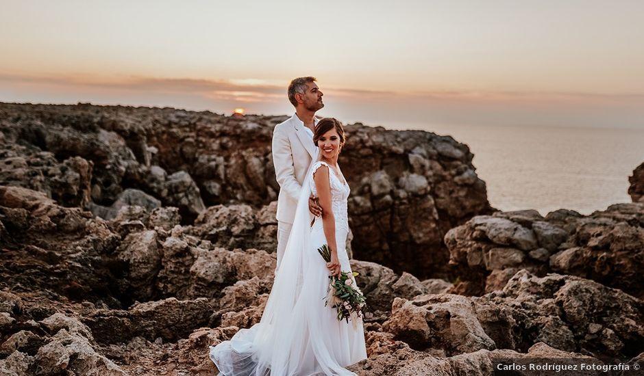 La boda de Sam y Sarai en Ciutadella De Menorca, Islas Baleares