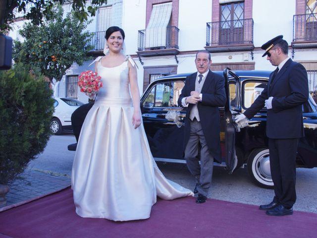 La boda de Alberto  y Paqui en Coria Del Rio, Sevilla 6