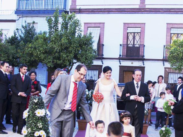 La boda de Alberto  y Paqui en Coria Del Rio, Sevilla 7