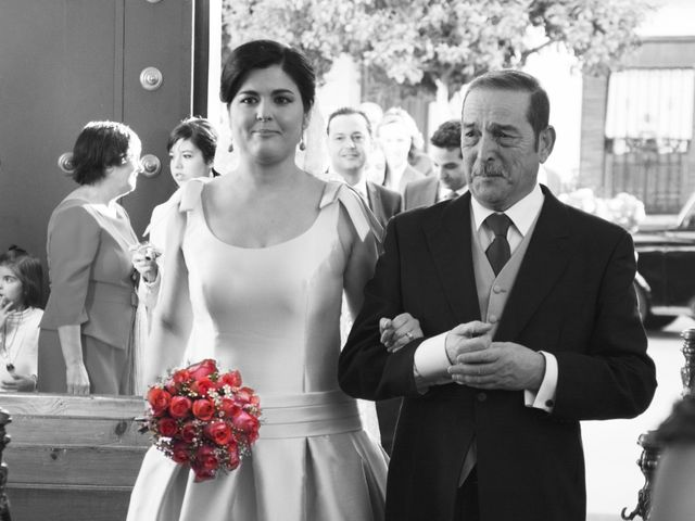 La boda de Alberto  y Paqui en Coria Del Rio, Sevilla 1