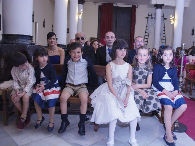 La boda de Alberto  y Paqui en Coria Del Rio, Sevilla 12