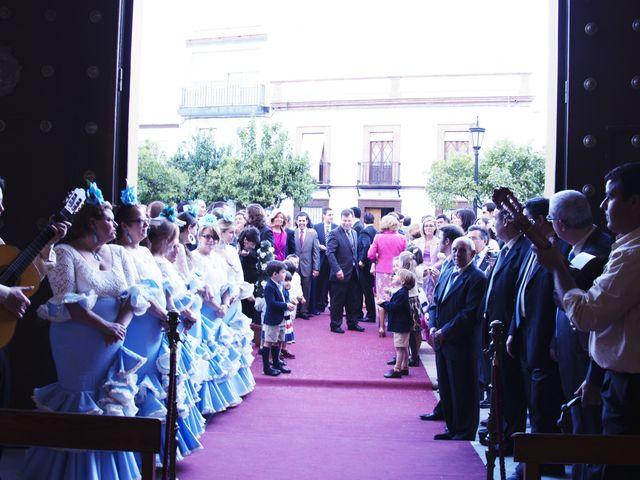 La boda de Alberto  y Paqui en Coria Del Rio, Sevilla 14