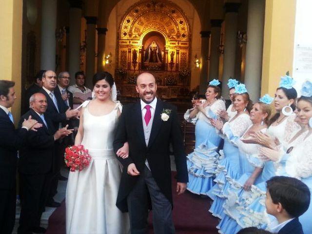 La boda de Alberto  y Paqui en Coria Del Rio, Sevilla 16