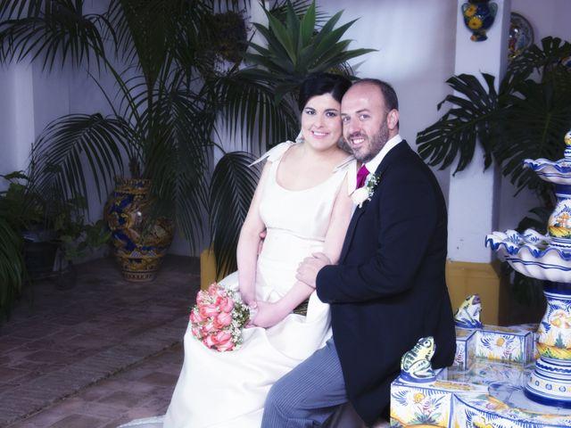 La boda de Alberto  y Paqui en Coria Del Rio, Sevilla 38
