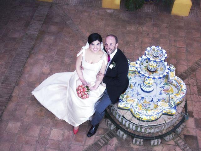 La boda de Alberto  y Paqui en Coria Del Rio, Sevilla 39