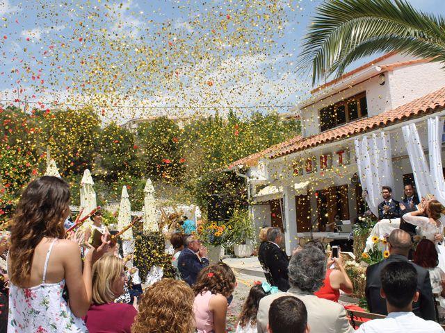 La boda de Javi y Pilar en Benimantell, Alicante 1