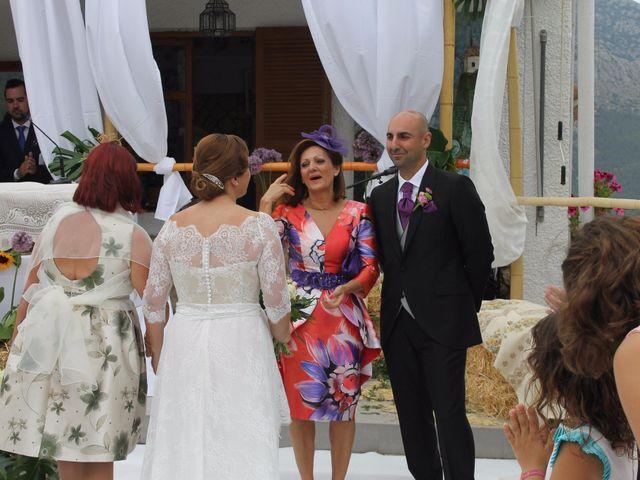 La boda de Javi y Pilar en Benimantell, Alicante 2