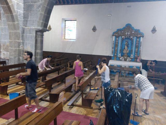 La boda de Damian y Almudena en Navaluenga, Ávila 19
