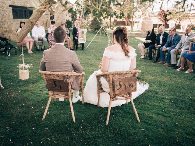 La boda de Dani y Eva en Sant Miquel De Balansat, Islas Baleares 23