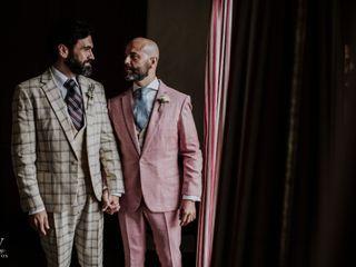 La boda de Manuel y Borja
