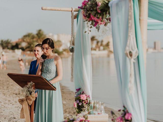 La boda de Javier y Irene en La Manga Del Mar Menor, Murcia 48