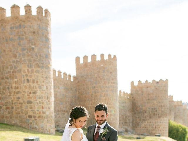 La boda de Joaquín y Lorena en Villatoro, Ávila 82