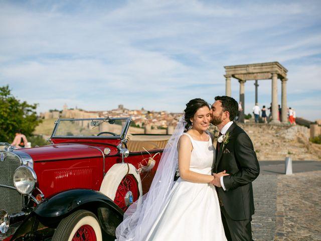 La boda de Joaquín y Lorena en Villatoro, Ávila 85