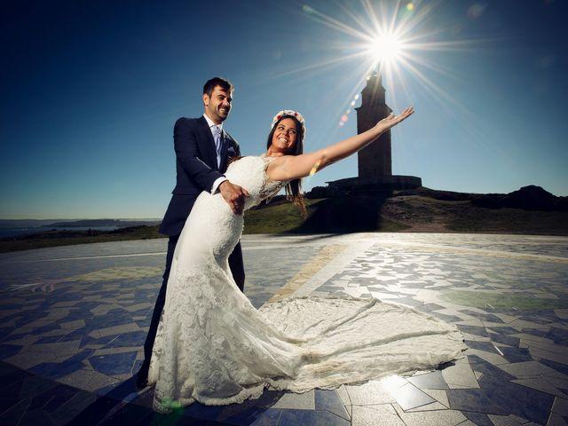 La boda de Alberto y Lucia en Oleiros, A Coruña 32