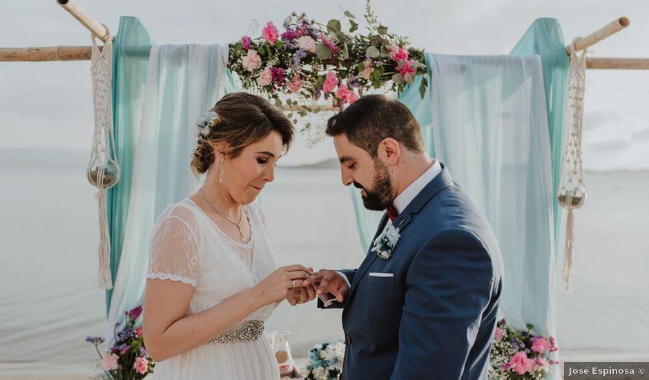 La boda de Javier y Irene en La Manga Del Mar Menor, Murcia