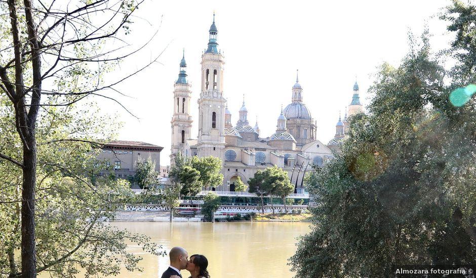 La boda de Marco y María en Cadrete, Zaragoza