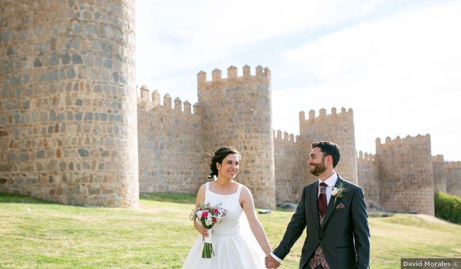La boda de Joaquín y Lorena en Villatoro, Ávila