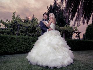 La boda de Melanie y Philippe