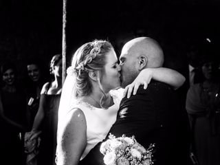La boda de Zara y Rubén