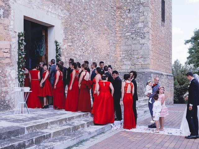 La boda de Javier y Ester en Villalba De La Sierra, Cuenca 14