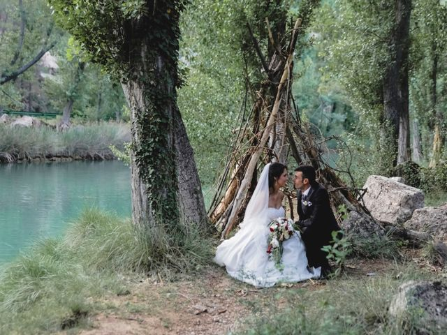 La boda de Javier y Ester en Villalba De La Sierra, Cuenca 16