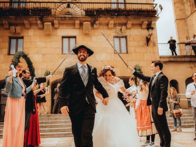 La boda de Tania y Joseba