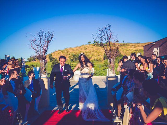 La boda de Javier y Anais en Madrid, Madrid 38