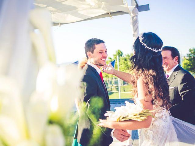 La boda de Javier y Anais en Madrid, Madrid 39