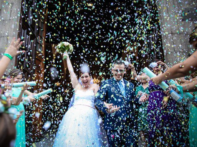 La boda de Alejandro y Natalia en Guimar, Santa Cruz de Tenerife 1