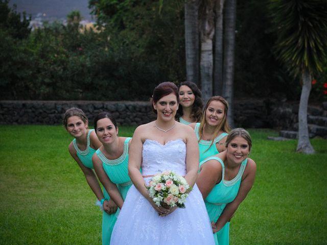 La boda de Alejandro y Natalia en Guimar, Santa Cruz de Tenerife 17