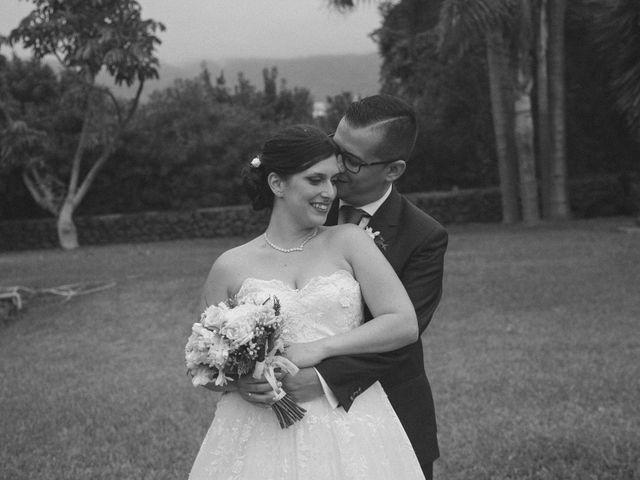 La boda de Alejandro y Natalia en Guimar, Santa Cruz de Tenerife 25