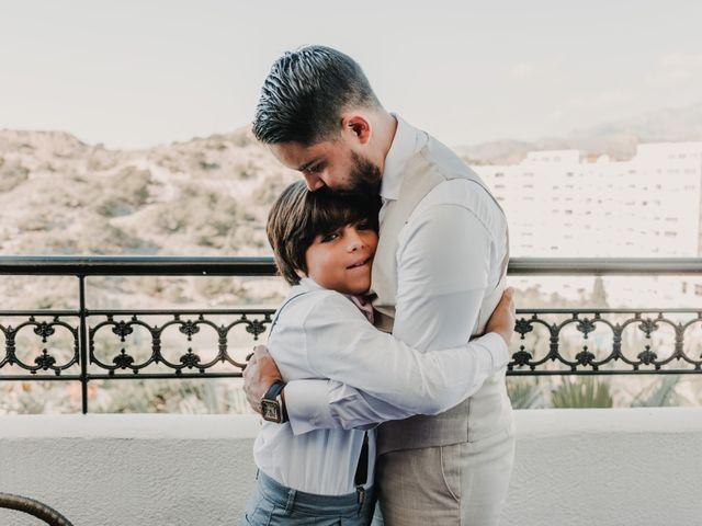La boda de Paúl y Blanca en La/villajoyosa Vila Joiosa, Alicante 10