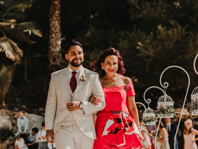 La boda de Paúl y Blanca en La/villajoyosa Vila Joiosa, Alicante 28