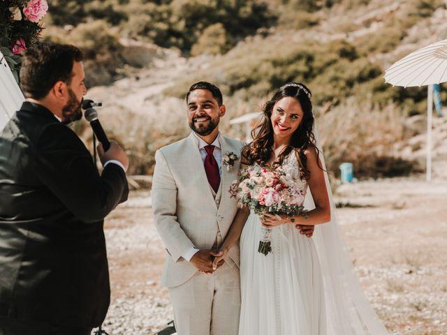 La boda de Paúl y Blanca en La/villajoyosa Vila Joiosa, Alicante 36