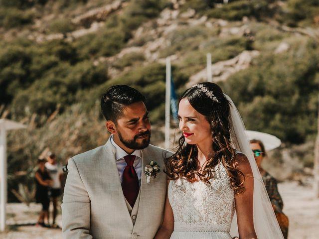 La boda de Paúl y Blanca en La/villajoyosa Vila Joiosa, Alicante 37
