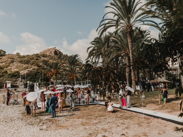 La boda de Paúl y Blanca en La/villajoyosa Vila Joiosa, Alicante 39