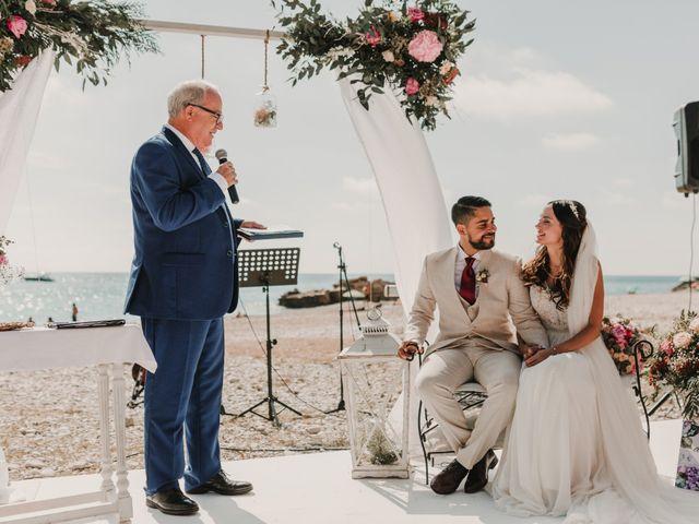 La boda de Paúl y Blanca en La/villajoyosa Vila Joiosa, Alicante 40